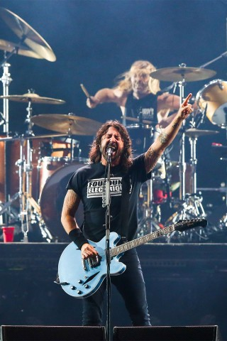 AUDIO: Foo Fighters Rock Out With 'No Son of Mine'