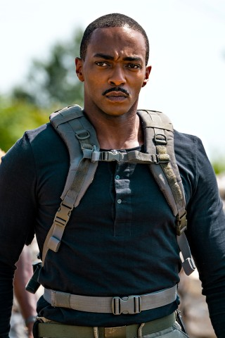 Anthony Mackie Stars as an Android Super Soldier