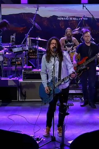 Foo Fighters Perform 3 Songs in Stern Show Return