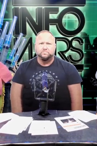 'Alex Jones' Weighs in on Fake Snow Conspiracy