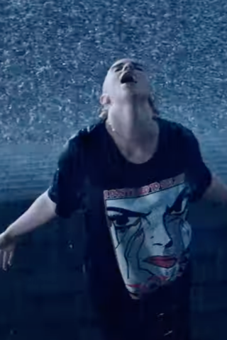 Read about Billie Eilish Gets Drenched in New Music Video