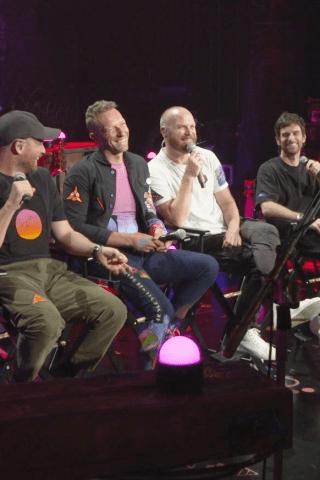 Chris Martin & Company Perform 3 Live Songs