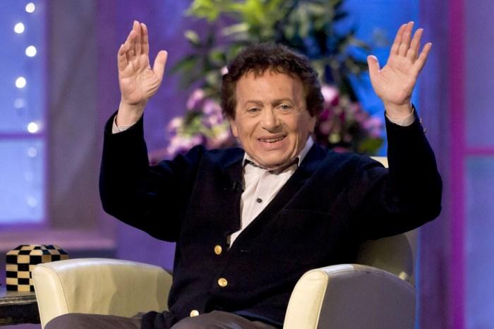 Comedian Jackie Mason in 2012